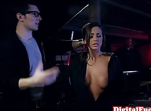 Squirting glam beauty bouncing more than cock