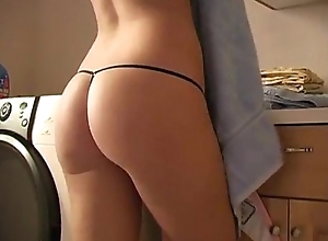 AVsextoy: Course record be proper of the beautiful underclothes model masturbating at home