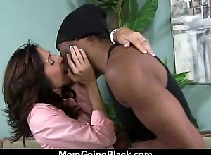 sexy milf mom make a blow job and ride a heavy blacklist cock interracial 22