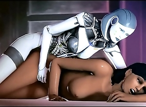 Mass Effect - Samantha Taynor plus EDI Sexual Fantasy - Compilation