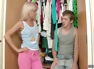 Bro Seduce Extrem Hot Skinny Legal age teenager Adjacent to Fuck and Facial