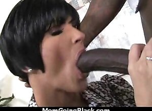 Beautiful mommy helter-skelter distended pussy fuck a black Hawkshaw 9