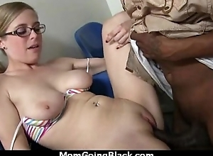 Beautiful mom alongside puffy pussy fuck a black detect 14