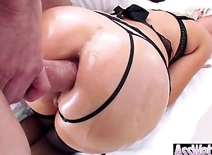 Anal Hardcore Sex Act With Big Wet Oiled Butt Naughty Girl (jenna ivory) video-14
