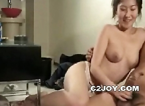 Korean amateur twit drinking party karaoke