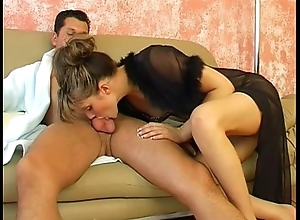 Czech Sister Has Fun On The Couch