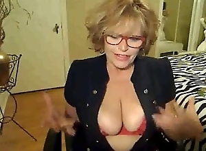 60 Year Old Milf Smokes and Mastrubates On Web camera &bull_ more on bitchescams.com