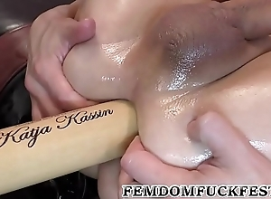Baseball Bat Pegging!