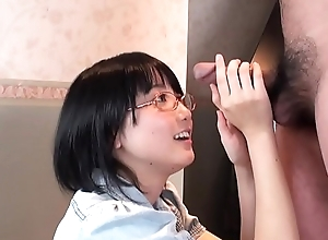 Uncensored Japanese blowjob