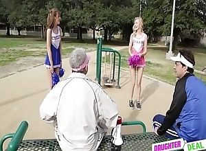 StepDad Fantasy Role-Play With Foxy Step-Daughter