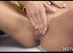 Wicked girl is pissing on web camera
