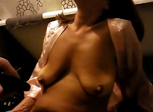 Tina mature brunette saggy tits masterbates for meth infront of a stranger cheat
