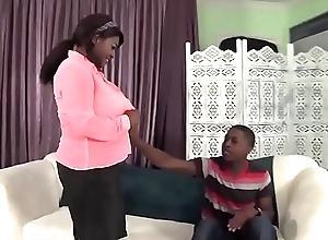 Obese Tittied Ebony Screwed Hard - BlacksOnMoms.co