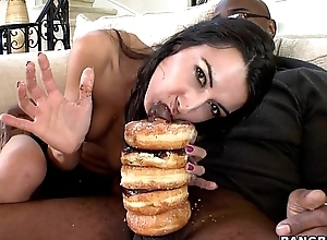 Donuts coupled with Black Dick