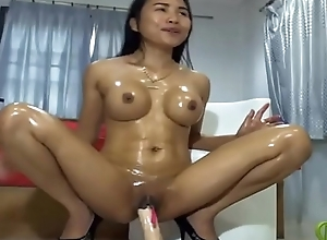 asian masturbating dildo oil niggardly body      www.oopscams.com