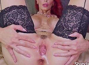 Kinky Milf Shanda Fay Gaps Pussy just about Dildo!
