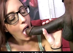Girl gets punished by a huge black cock 13