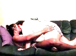 Sexy Sissy In Bikini Horde Out Yon Wife Vulnerable Couch Kissing