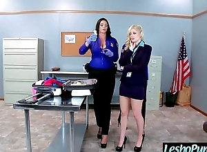 Hot Lez Girl (alison&amp_charlotte&amp_julia) Get Punish Unconnected with Mean Lesbo Here Dildos clip-07