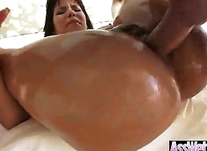 Big Oiled Butt Girl (rose monroe) Get Hard Nailed Around The brush Behind clip-27