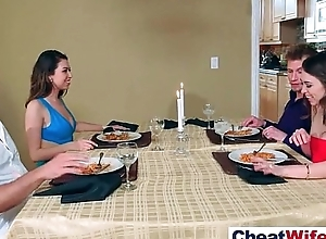 Gorgeous Housewife (melissa riley) Cheating Prevalent Hard Dealings Scene clip-20