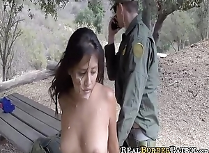 Dirty Mexican 18-Year-Old Punished Fucked By BorderGaurd