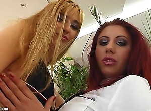 Spermswap delivers Ramona &amp_ Krystal connected with fuck and share sperm token hardcore sex