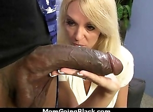 Mature Matriarch barely takes 10 inch Black Cock 10
