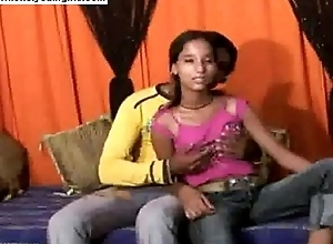 Teen Pakistani girl undress