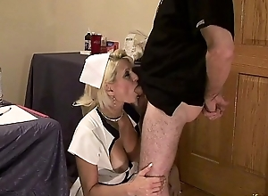 Nurse Stare  mature anal whore be concerned cosplay