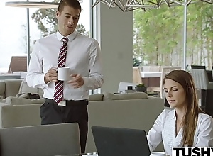 Tochis Hawt assistant punished and ass fucked by boss
