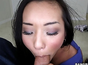 Asian Babe Alina Li Dick Sucking School