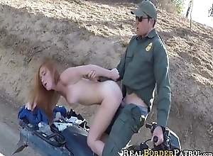 RealBorderPatrol - Border Hopping Redhead Alex Tanner Loves Cock 0033